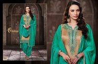 Latest Pure Cotton Patiala Suits