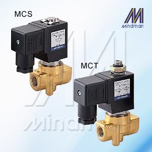 2/2 Way small size N.C. Diaphragm Series Solenoid Valve Model: MED