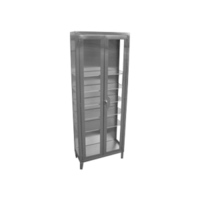 Stainless Steel Medical Storage Cabinet for Cleanroom