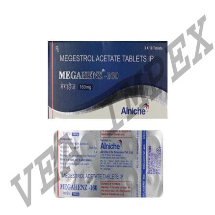 Megahenz 160(Megestrol Acetate Tablets Ip)
