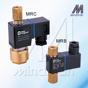 Solenoid Valve 2 Way MR* Series Model: MRC