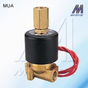 3Way 2 Position Solenoid Valve MU* Series Model: MUA