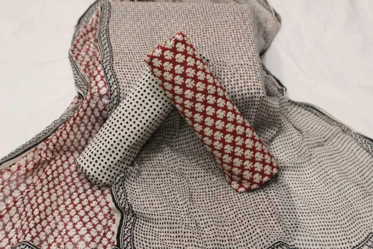 Ladies Printed Suit Material