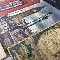 Digital Printed Wood