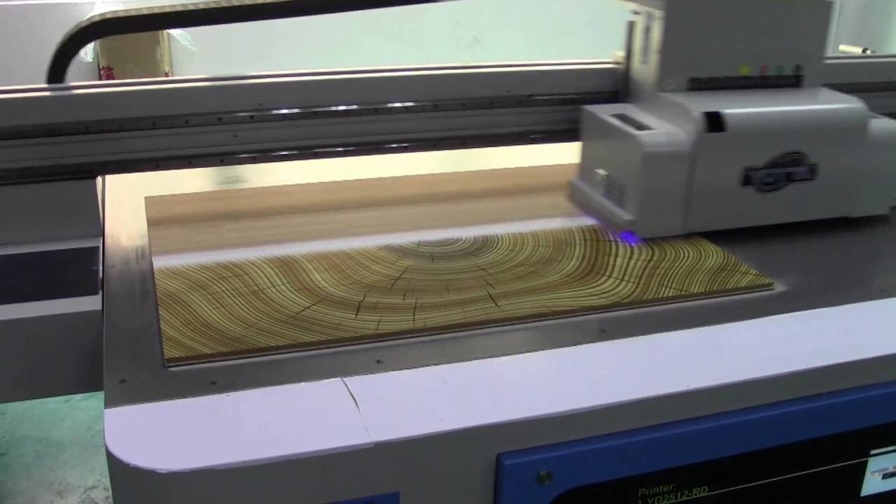 Digital Printed Wood