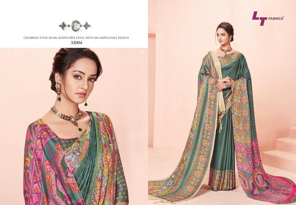 Pasmina Silk Designer Sarees