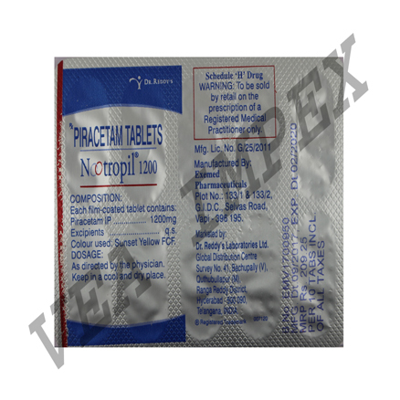 Nootropil 1200(Piracetam Tablets)