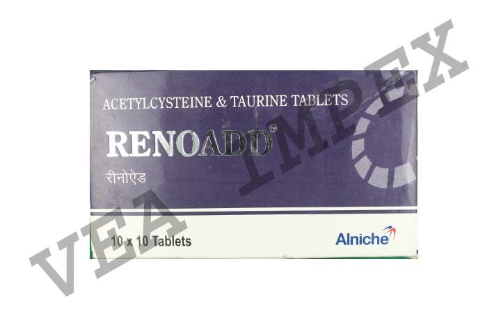 Renoadd(Acetylcysteine & Taurine Tablets)