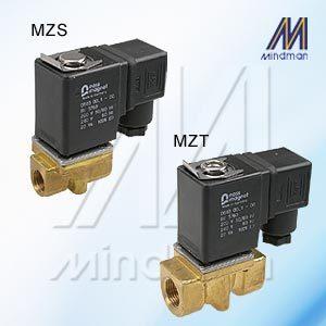 2/2 Way N.C. Plunger Series Direct Acting Solenoid Valve  Model: MZ