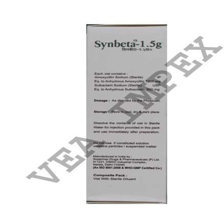 Synbeta( Amoxycillin & Sulbactam Injection)