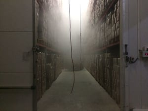 CONTROLLED ATMOSPHERIC COLD STORAGE