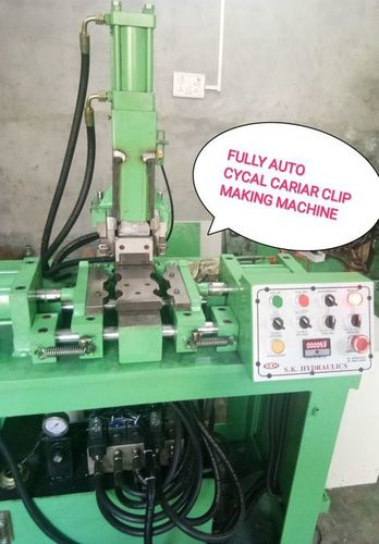 Bicycle Carrier Clip Making machine