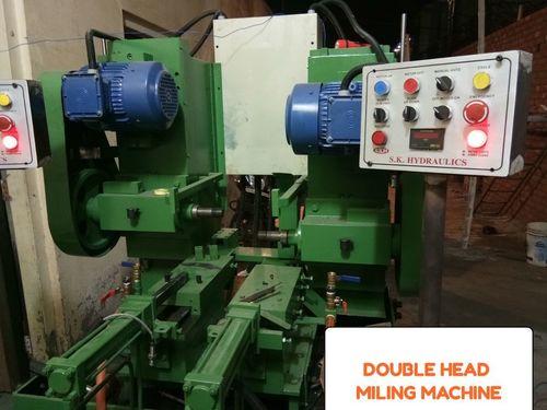 Double Head Milling Machine