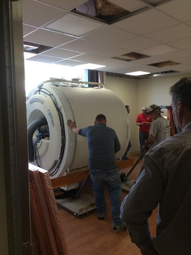 Installation and Service of MRI