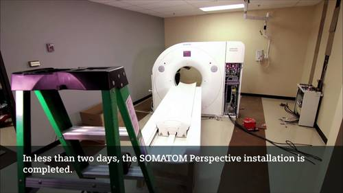 Installation and Service of CT Scanners