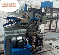 Screw Driver Tip making machine
