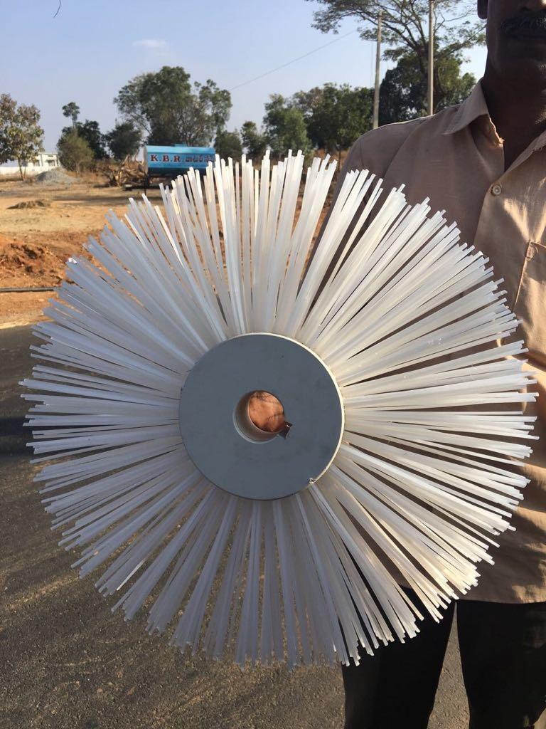 Nylon Roller Brush Manufacturer,Nylon Roller Brush Supplier in Ahmedabad
