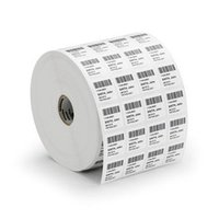 Printed Barcode Stickers Roll