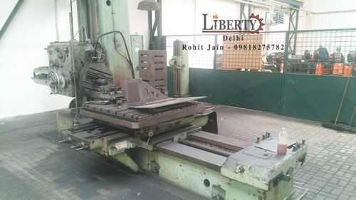 TOS Horizontal Boring Machine