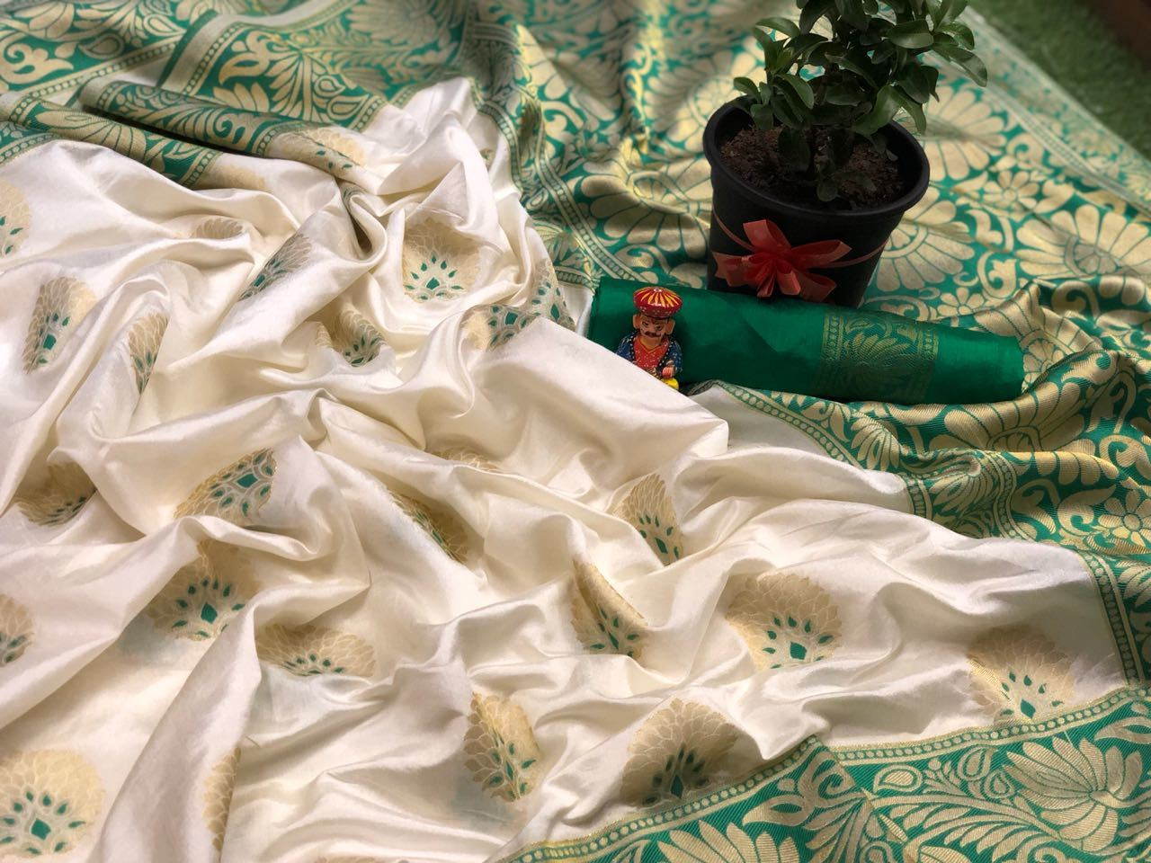 Soft Banglori silk sarees