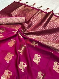 SOFT BANARAS SILK SAREE