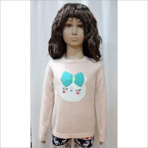 Girl Intarsia Sweater