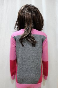 Intarsia Girl Kid Sweater