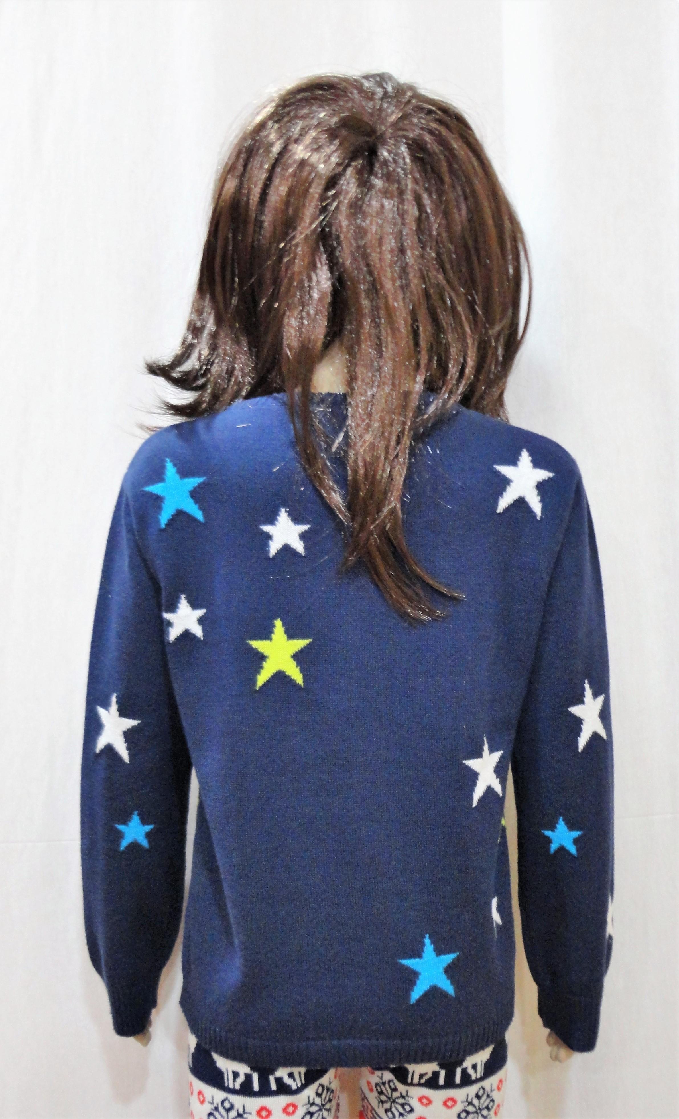 Star Girl Intarsia Sweater