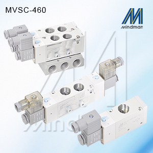 5/2 SINGLE SOLENOID  MVSC-460-4E1-DC24