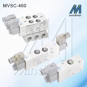 5/2 SINGLE SOLENOID  MVSC-460-4E1-DC24