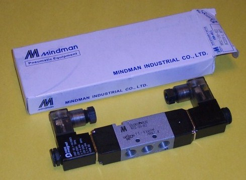 5/2 SINGLE SOLENOID MVSD-180-4E2-DC24