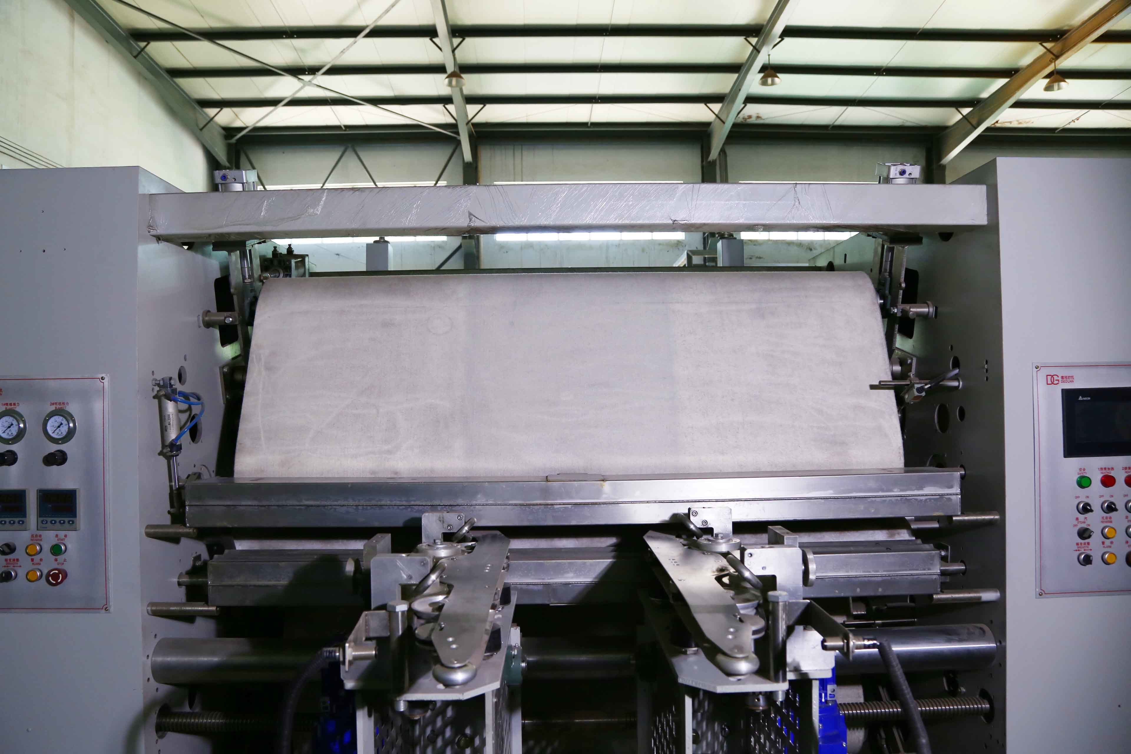 Rubber Blanket Sanforizer Machine