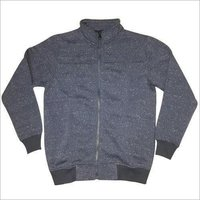 Mens Zippered Sweatshirt
