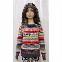 Allover Jacquard Sweater