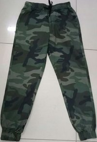 Men's Cotton Army Lower