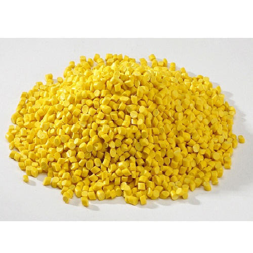 Yellow HDPE Blow Moulding Granules