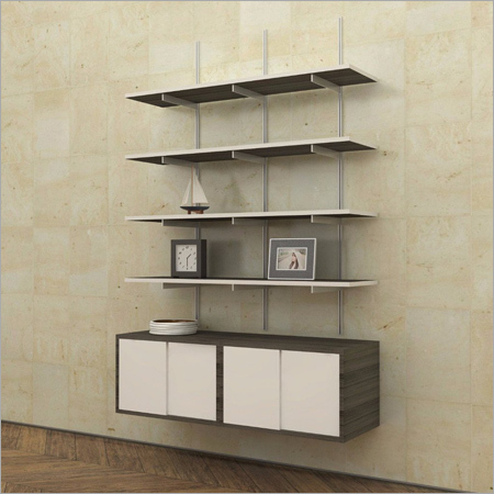 Wall Shelves and Storage Unit