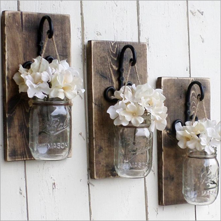 Wall Decor Flower Pot
