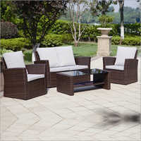 Wooden Garden Sofa Set