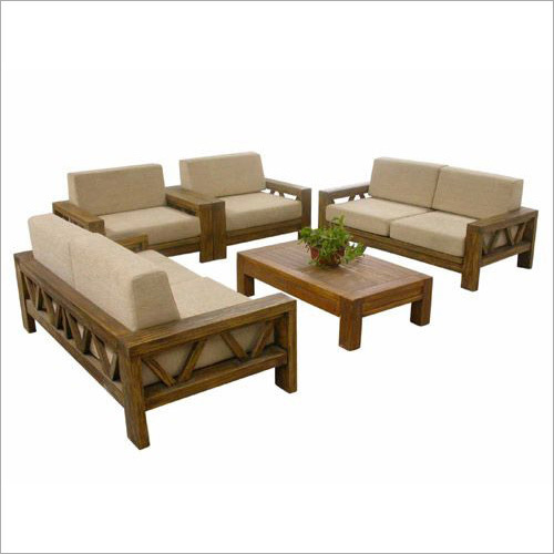 Teak Wood Sofa Set