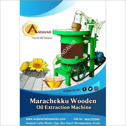 Automatic Marachekku Oil Crushing Machine