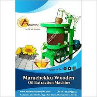 Automatic Marachekku Oil Crushing Machine