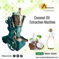 Automatic Coconut Oil Processing Machine