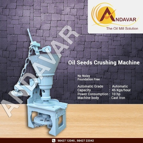 Oil Seed Crushing and Grinding Machine