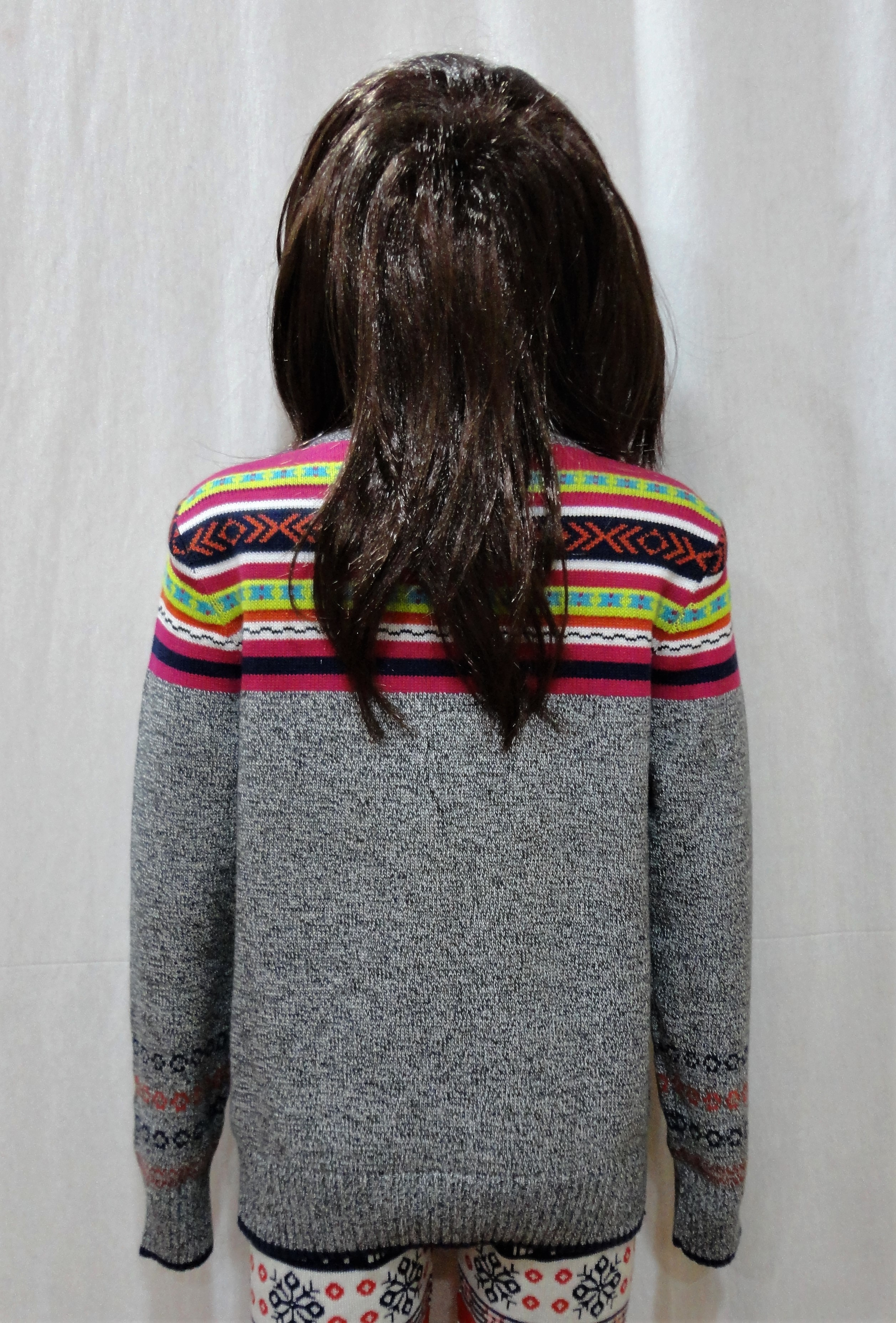 Chest Jacquard Sweater