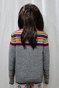 Chest Jacquard Sweater