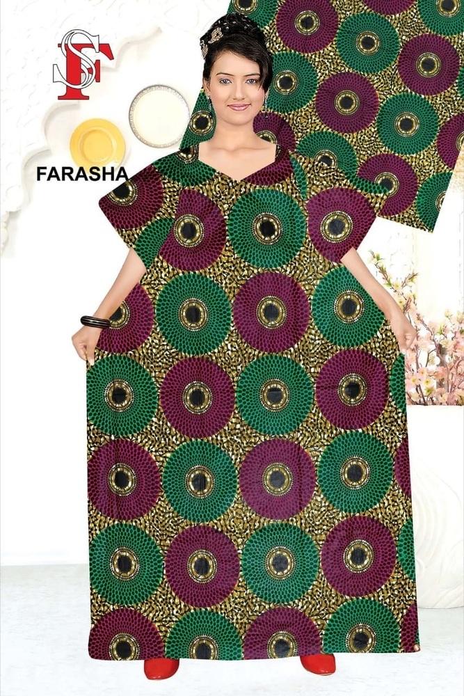 Full Sleeve Dress Farasha Style Abaya Modest