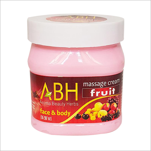 Massage Cream Fruit