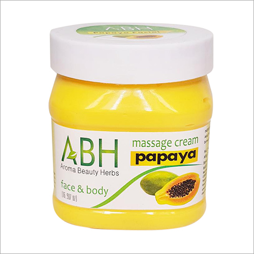 Massage Cream Papaya