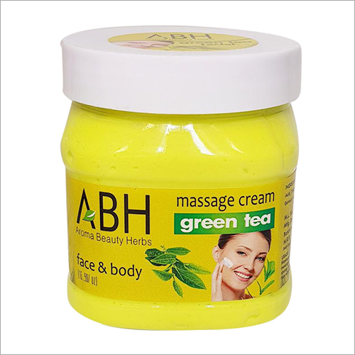 Massage Cream Green Tea